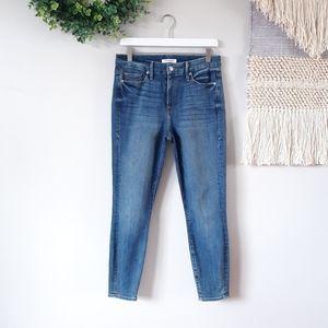 Good American | Good Legs Crop Skinny Jeans - Blue
